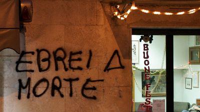 Per scritte comparse sui muri della città lo scorso autunno