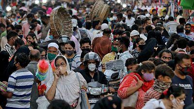 إصابات كورونا في الهند تتجاوز 20 مليونا