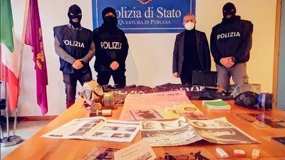 Due indagati, in provincia Perugia e Terni