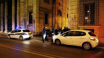 Intervento vigili nel quartiere San Lorenzo