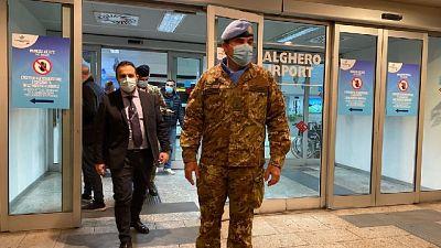 Militari sbarcati stasera ad Alghero dopo missione di sei mesi