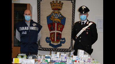 Operazione del Nas a Cagliari, 600 fiale sequestrate
