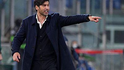 روما الإيطالي ينفصل عن مدربه فونسيكا بالتراضي
