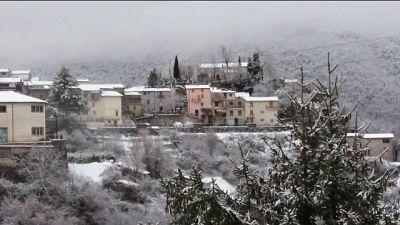 Bollettino Protezione Civile, prevista neve a basse quote