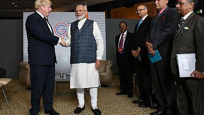 المملكة المتحدة والهند تتفقان على تعميق التعاون في مجالات شتى