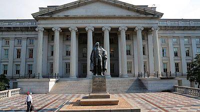 Rendimiento de bonos Tesoro EEUU cae en medio de menor apetito por el riesgo