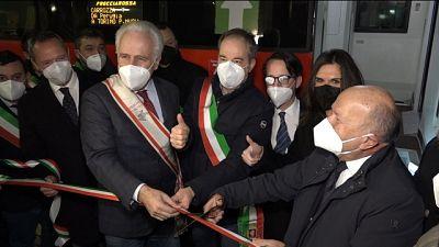 Su Av Roma-Firenze per Toscana-Umbria,Giani inaugura con sindaci