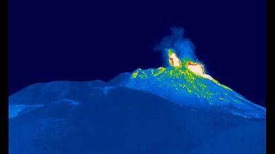 Intensificata attività al cratere di Sud-Est