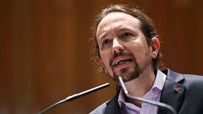Pablo Iglesias, fundador del partido izquierdista español Podemos, anuncia su retiro de la política