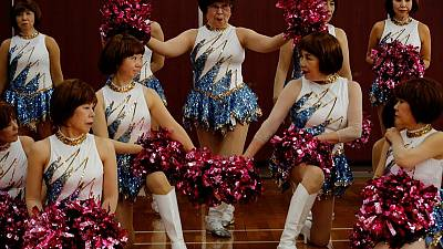 'Try anything': Japan's silver-haired cheer-dancing squad