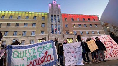 Manifestazione di protesta a Bari,'nuova ordinanza irricevibile'