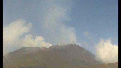 Ingv-Oe, lieve incremento tremore vulcanico e fase infrasonica