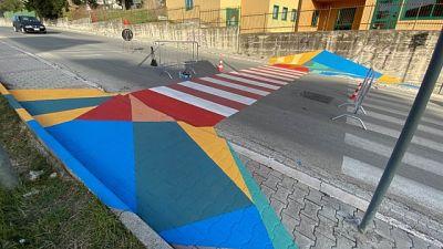 Innovativi attraversamenti in scuole della città