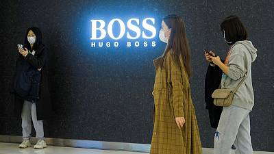 Hugo Boss expects sales to double in second quarter