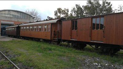 Per l'occasione viaggio con locomotore e 2 carrozze del 1913