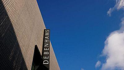 Britain's Debenhams to close last stores by May 15