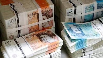 Sterling slips against dollar, heads for worst week in a month