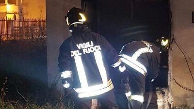 A Vaiano i vicini hanno dato l'allarme e chiesto i soccorsi