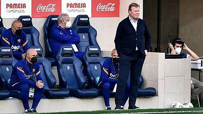 Koeman se perderá el partido contra el Atlético de Madrid tras confirmarse su sanción