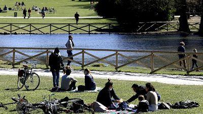 Tanti nei parchi nell'ultima domenica prima della zona rossa