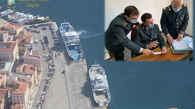 Operazione della Guardia di finanza di Cagliari
