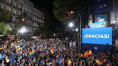 La victoria en Madrid dispara las ambiciones de la derecha en España