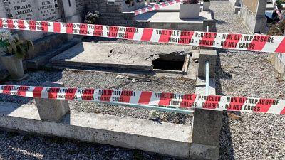 Salvato dai Vigili del fuoco, indagano i Carabinieri di Gorizia