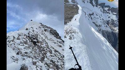 In Toscana, intervenuto il soccorso alpino con squadre da terra