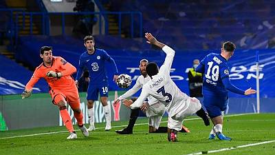 Chelsea vence 2-0 al Real Madrid y jugará la final de la Liga de Campeones