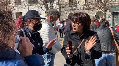 Arriva anche mamma 'no mask' , identificata da polizia
