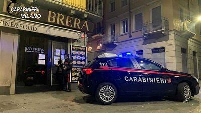 I controlli eseguiti dai carabinieri di Milano