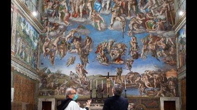 Saluta il Papa all'inaugurazione dell'anno giudiziario