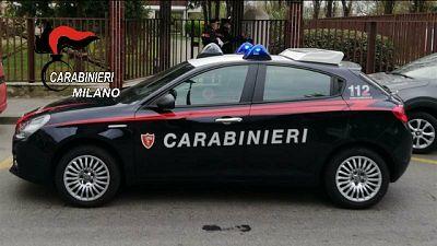 I carabinieri chiamati dal figlio tredicenne della coppia