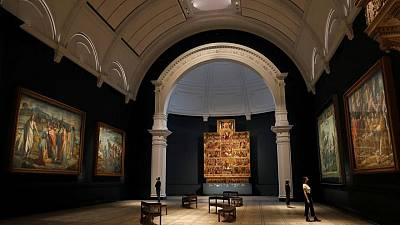 Ahead of re-opening, London's V&A museum unveils new Raphael gallery