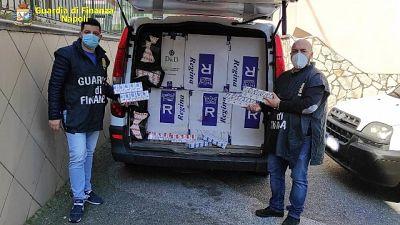 """250mila euro il valore delle """"bionde"""", anche sanzioni anti covid"""