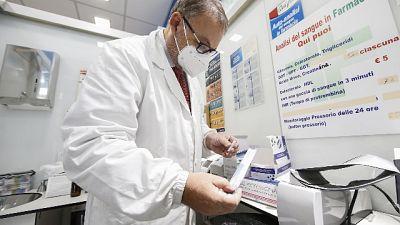 62 casi in meno e due decessi, oltre 2.000 tamponi eseguiti