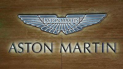 Aston Martin posts smaller first-quarter loss