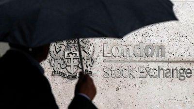 Weaker pound, mining stocks push blue-chip FTSE 100 higher