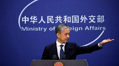 China condemns G7 statement censuring Beijing