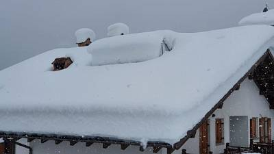 Sulle Dolomiti caduti 20-40 cm, le temperatura restano basse