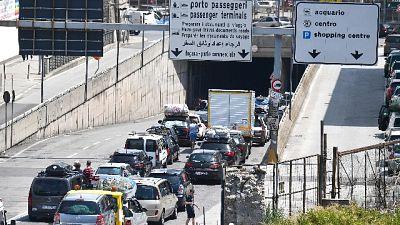 Disagi fino all'uscita autostrada Genova Ovest e Bolzaneto in A7