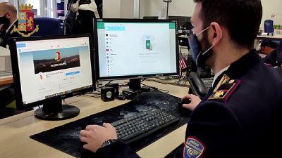 Fascicolo per accesso abuso a sistema informatico