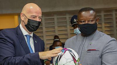 Football's unifying power tops agenda during Sierra Leone visit