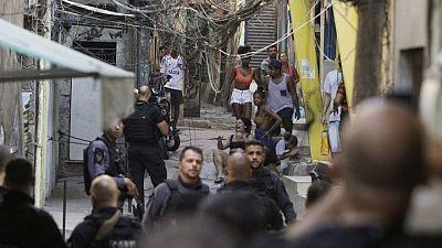 Twenty-five killed in deadliest Rio police raid since 2005