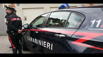 Sulle cause della caduta indagano i carabinieri