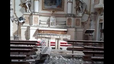 Dopo 12 anni nessun edificio religioso ricostruito nel paese