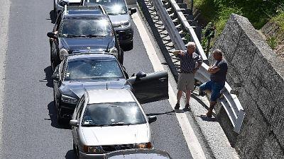 Incolonnamento di 13 km tra Varazze e Genova