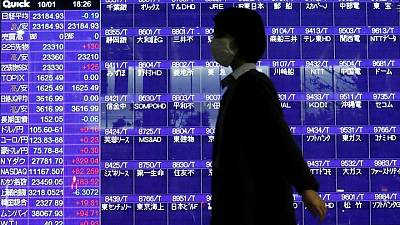 Global stocks rally into U.S. jobs report amid surging commodity prices