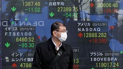 المؤشر نيكي ينخفض 1.33% في بداية التعاملات في طوكيو