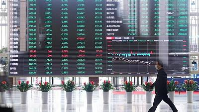 Asia stocks in cautious mood, dollar near 1-mth lows